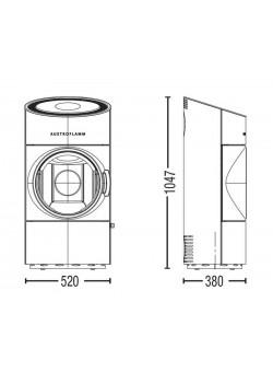 Печь-камин Austroflamm CLOU Compact
