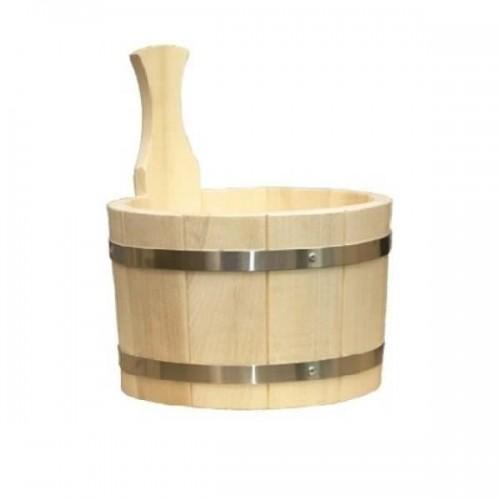 Ушат для бани или сауны 3 литра осиновый купить
