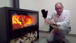 How to operate your wood stove efficiently. PANADERO