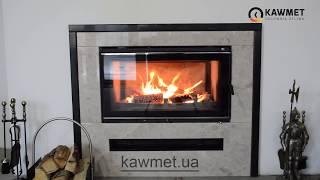 Обзор - Каминная топка KAWMET W16 PREMIUM 18 кВт