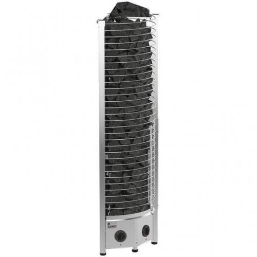 Печь для бани SAWO Tower Premium Круглая 3,5 кВт встроенный блок для бани и сауны