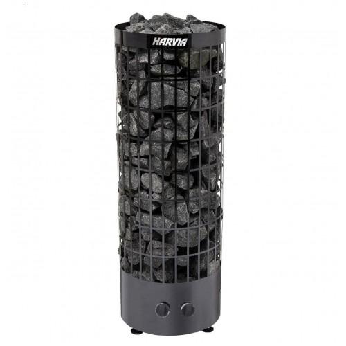Электрическая печь для сауны Harvia Cilindro Black Stell PC90 для сауны