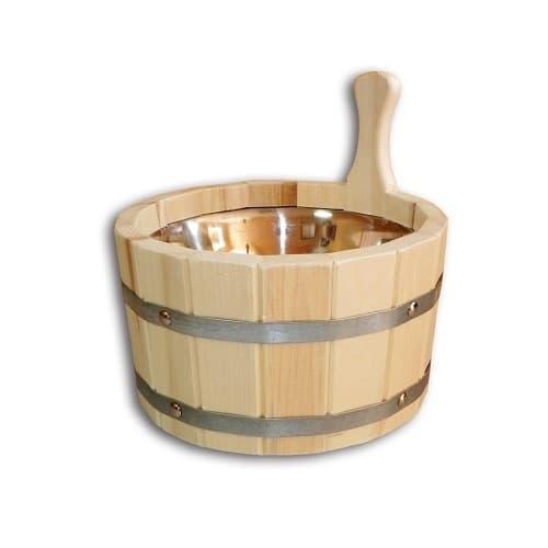 Ушат для бани или сауны 3,5 литров из липы