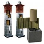 Керамические дымоходы и трубы