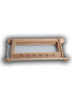 Абажур для вставки солевых плиток