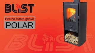 Blist Solid fuel stove POLAR