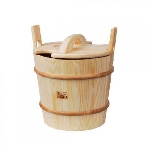 Запарник с крышкой SAWO 380-P 15 л для бани и сауны
