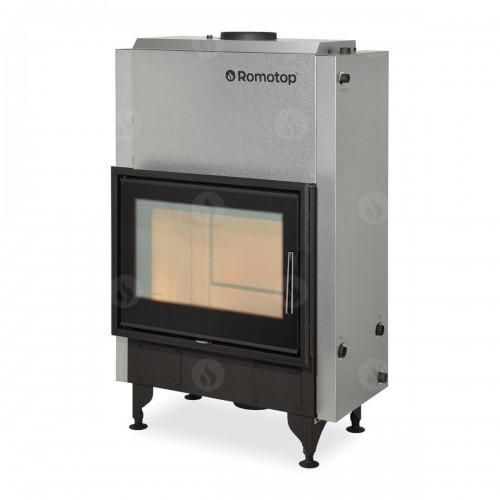 Каминная топка Romotop Dynamic KV 025 W02 BD с теплообменником, тройное стекло