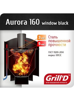 Печь Grill'D Aurora 160 TRIO Window