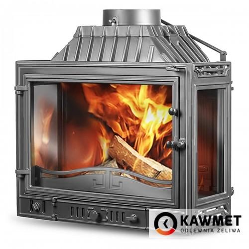 Каминная топка KAWMET W4 трехсторонняя 14.5 kW