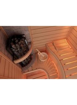 Печь для бани SAWO Tower Premium Угловая 9 кВт выносной блок