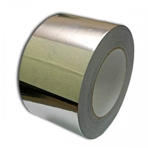 Алюминиевый термостойкий скотч для бани