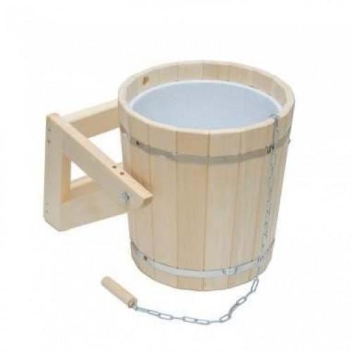 Обливное устройство для бани 15 л с пластиковой вставкой