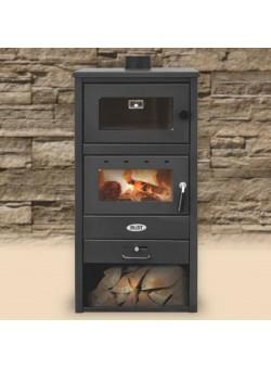 Печь-камин Blist BR с духовым шкафом