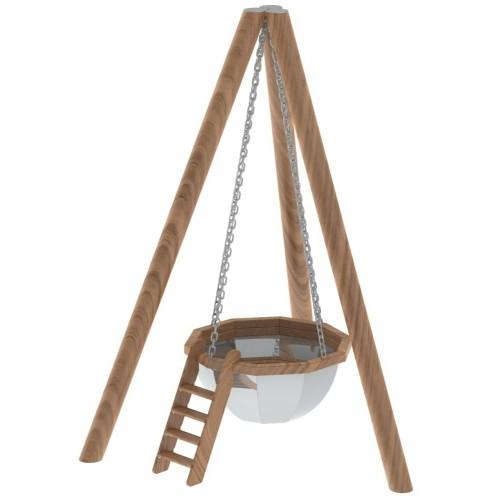 Банный чан - 10 граней на бревнах