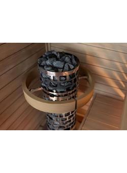 Печь для бани SAWO Aries Круглая 10,5 кВт выносной блок