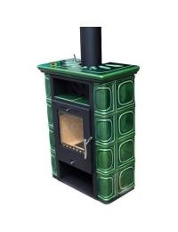 Печь BORGHOLM Keramik TOP, оливково-зеленая (Thorma)