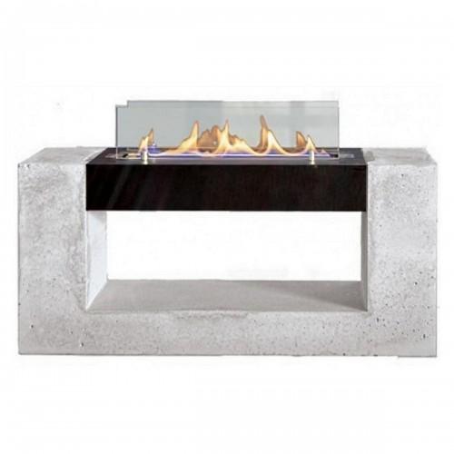 Биокамин Spartherm Architecture SL черный/бетон