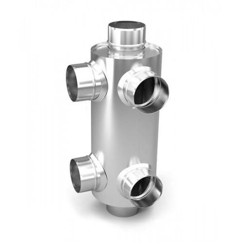 Дымоход конвектор для смежных помещений
