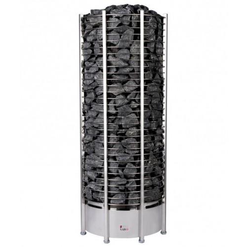Печь для бани SAWO Tower Premium Круглая 15 кВт выносной блок для бани и сауны