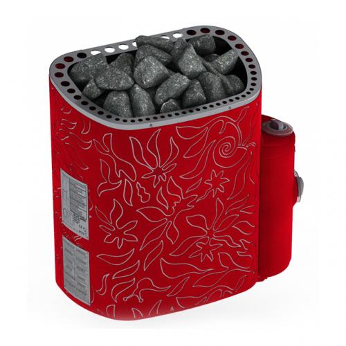 Электрическая печь  SAWO DRAGONFIRE, Scandifire 8 кВт для бани и сауны