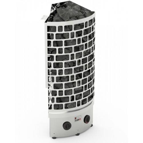 Печь для бани SAWO Aries Угловая 7,5 кВт встроенный блок для бани и сауны