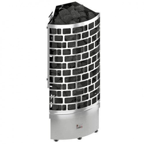 Печь для бани SAWO Aries Угловая 7,5 кВт выносной блок для бани и сауны