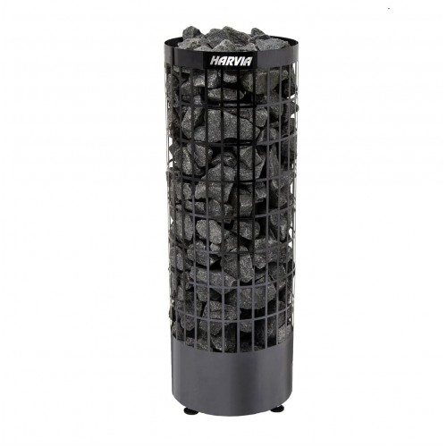 Электрическая печь для сауны Harvia Cilindro Black Stell PC70E для сауны