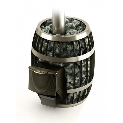 Дровяная печь для бани Термофор Саяны Carbon, Inox