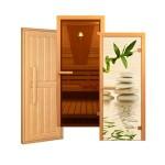 Двери для бани и сауны в парилку