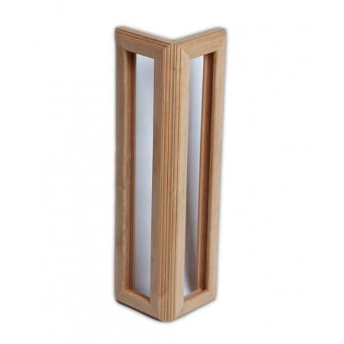 Абажур угловой на 6 солей вертикальный