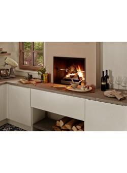 Топка-камин Brunner Urfeuer 50/66 кухонный с грилем