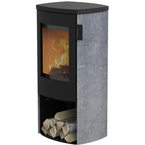 Печь-камин Lotus MONDO 3 Soapstone cast-iron topplate