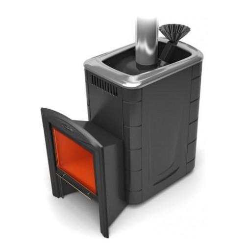 Дровяная печь для бани Термофор Гейзер 2014 Vitra Carbon, Inox