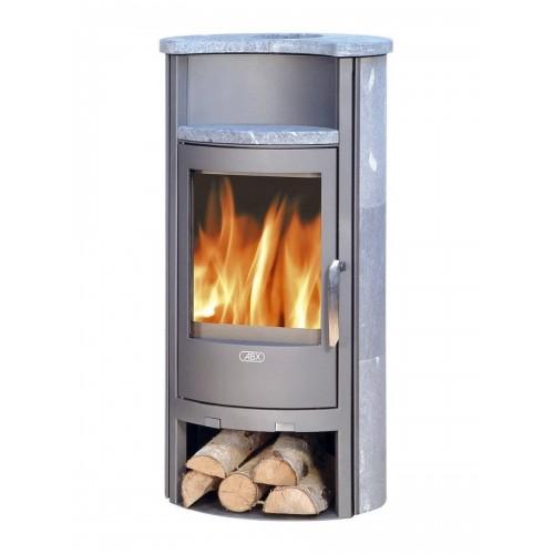 Печь-камин ABX Pori 7 Aqua с теплообменником