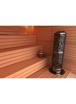 Электрическая печь SAWO DRAGONFIRE, Heaterking 12 кВт (круглая)