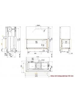 Топка Brunner Architektur-Kamin 45/101/40