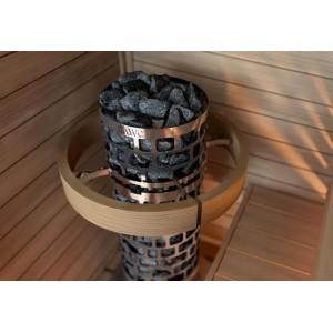 Печь для бани SAWO Aries Круглая 9 кВт встроенный блок