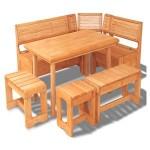 Деревянная мебель в баню