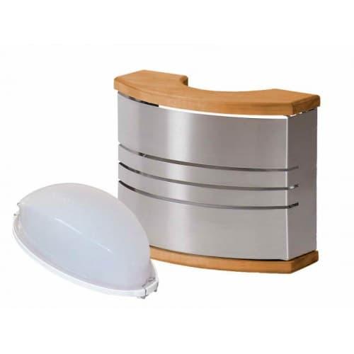 Стальной комплект для освещения сауны светильник для сауны Harvia