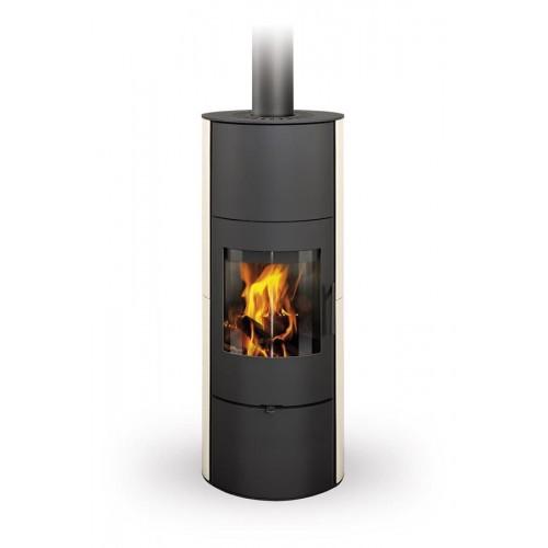 Печь-камин стальная Evora 01 A керамика