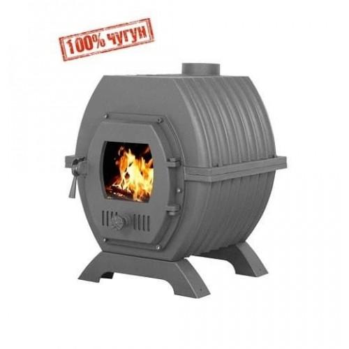 """Отопительная печь для дома """"Триумф 180"""" из чугуна с теплообменником"""