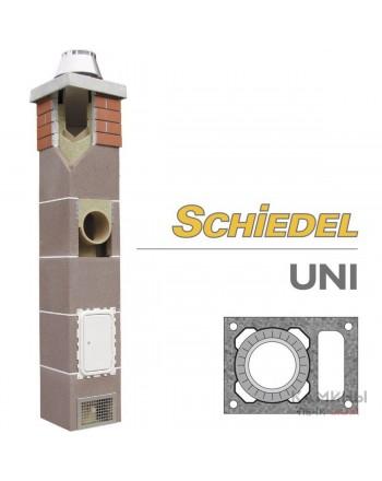 Керамический дымоход Schiedel UNI одноходовой с вентиляционным каналом