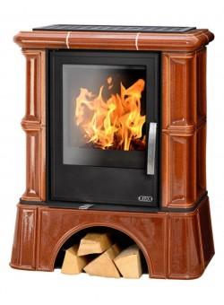 Кафельная печь ABX Bavaria K кафельный цоколь с теплообменником