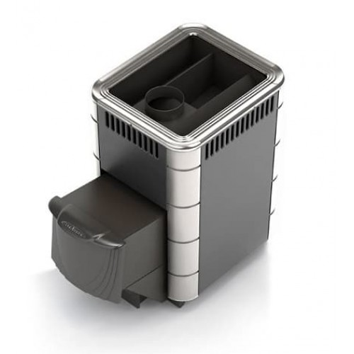 Дровяная печь для бани Термофор Компакт 2013 Carbon, Inox