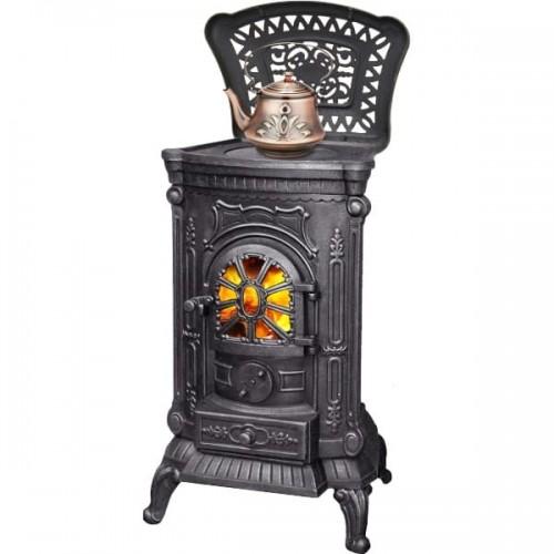 Печь-камин LK INGRID из чугуна для дома и дачи