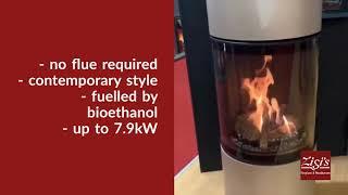 Spartherm Ebios Fire Passo E bioethanol upright stove