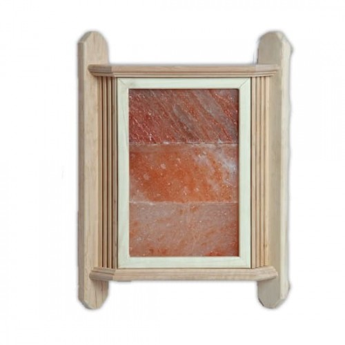 Деревянный  абажур на 3 плитки