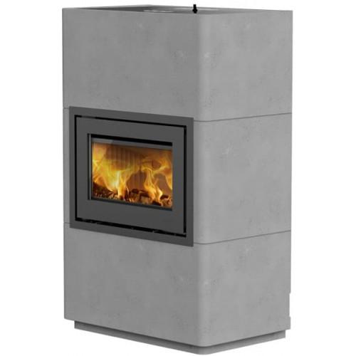 Печь-камин Lotus Beto 470 - Grey door
